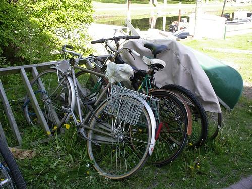 Bike Rack, Toronto Island