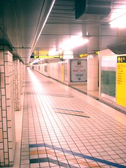 infinite hall (McWild) Tags: digitalphotographyproject tokyo underground tunnels ruins urban