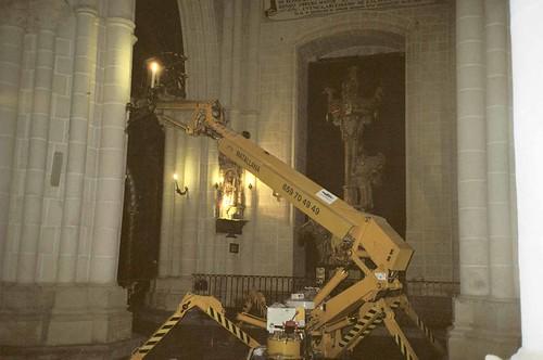 Araña en el interior de la Catedral