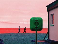 lifesaver (brocket jenny) Tags: drink heading for pub evening sea aldeburgh beach lifesaver wow