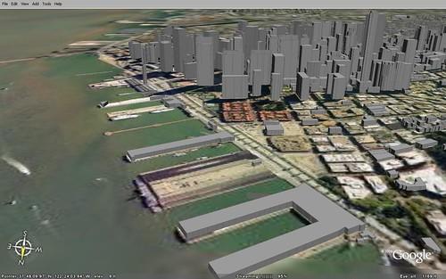 Google Earth - San Francisco