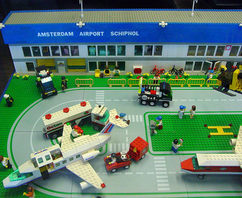 Lego Airport - Schiphol Amsterdam