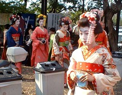 Una geisha moderna