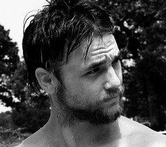 (Special) Tags: unfound bw man male portrait face water droplets beard jobber seth skunkworks