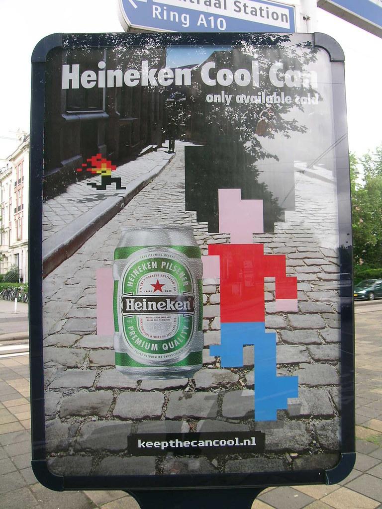 Heineken Invader