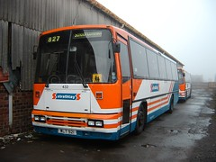 Strathtay - 432 - WLT921 - Traction-Group20050348 (Rapidsnap (Gary Mitchelhill)) Tags: strathtay strathtaybuses forfar buses greyday gloomy scotchmist