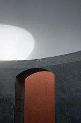 Turrell Painted Light (ken mccown) Tags: jamesturrell skyspace art space light deyoung sanfrancisco saveme6 deleteme10