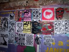 Av. Cardeal Arcoverde (infernocity) Tags: inferno sticker poster streetart art rua sãopaulo city