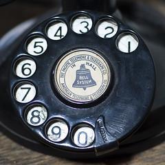 Dial (DarrylW4) Tags: macro phone michigan telephone d2x dial micro saline salinedepotmuseum