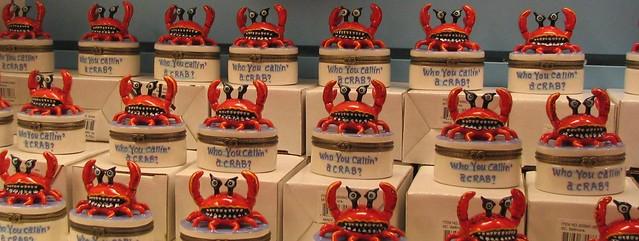 Who you callin a crab?  Baltimore