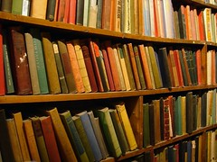 Bookshelves (gadl) Tags: paris france geotagged bookcrossing books bookshelf bookstore bookshop bookshelves livres shakespeareco shakespeareandcompany 75005 soirelecture 20060125 geolat48852616 geolon2347029