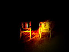 2 chairs at midnight (ashabot) Tags: night chairs midnight