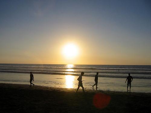 Agadir Beach Sunset