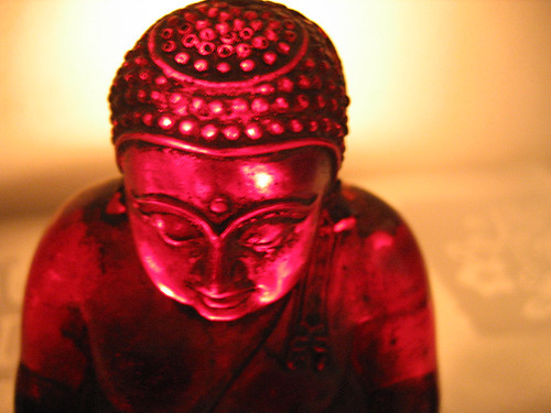 over red budha