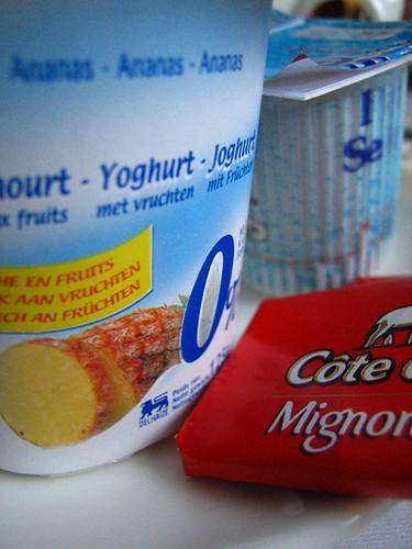 Yoghurt en côte d'or