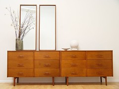 McCobb Planner Group Dressers and Mirrors (Stewf) Tags: mirror ebay chest walnut dresser furnishings midcentury mccobb plannergroup notforsalereferenceonly