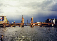 Oberbaumbrcke (bea2108) Tags: bridge berlin water river cool explore spree verycool interestingness241 i500
