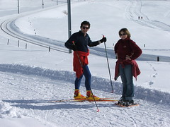 DSCF2507 (Simon Lord) Tags: winter snow les switzerland suisse snowshoes rackets rousses