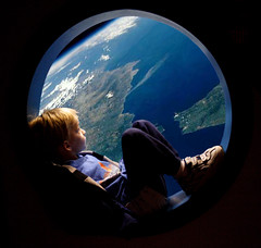 The view out the porthole (artbeco) Tags: our riley earth space astronaut future dreams bubble roundwindow artbecoutatafeature utatacolorblack utata:color=black utata:project=upportfolio