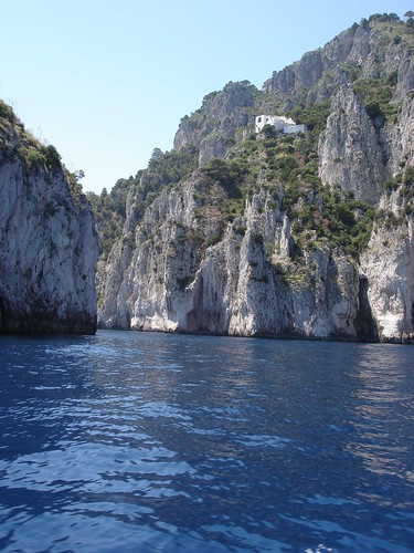 Sophia Loren's House on the Coast of Capri, Italia