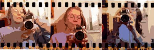 daypix selfportrait holga 35mm