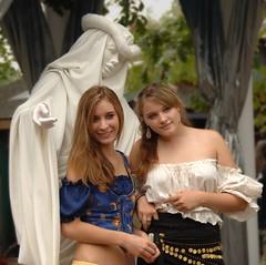 Fair Maidens at the Fair (Mr. Physics) Tags: girls festival female women michigan holly renaissance younggirls msoller