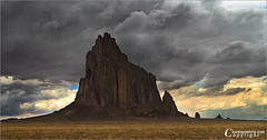 """Shiprock - """"Rock With Wings"""" (Tommy Simms) Tags: newmexico southwest art 20d nature canon20d canoneos20d navajo nm navajoreservation canoneos soe anasazi fourcorners reservation shiprock navajonation tommysimms qemd specland specnature 31103 theworldthroughmyeyes tonyhillerman shiprocknewmexico mywinners abigfave tsexplore copyrightwwwtommysimmscom qemdadminfave frhwofavs"""