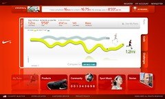 Nike+ Run #16 10-04-2006 (Erik Holmberg) Tags: apple ipod zoom air nike plus nano moire nikeplus