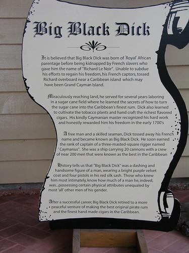 Big black dick cayman islands words... super