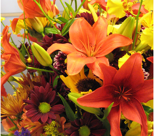 Floral Arrangement Extraodinaire!