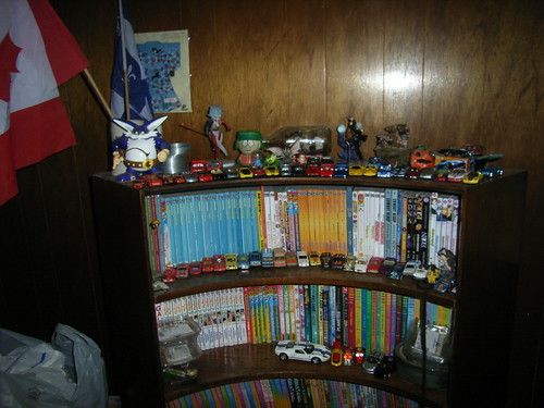 On top of my manga bookshelf.
