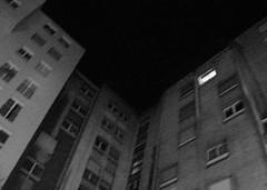 Sand Castles (In Memoriam: Hughes Léglise-Bataille) Tags: blackandwhite bw paris france night noiretblanc grain olympus 2006 e500