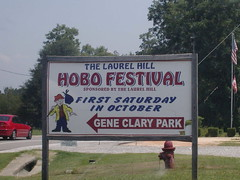 Hobo Festival (Aladaze) Tags: strange hobo festival wierdsign sign