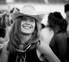 Gorgeous cowgirl (nathalie booth) Tags: sanfrancisco california woman smile gorgeous burningman cowgirl decompression nathaliepahudbriquet sfchronicle96hours
