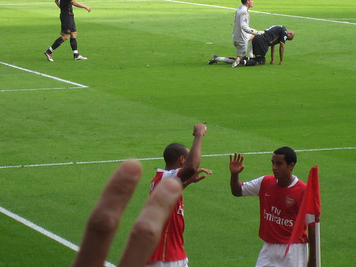 Henry And Theo Celebrating