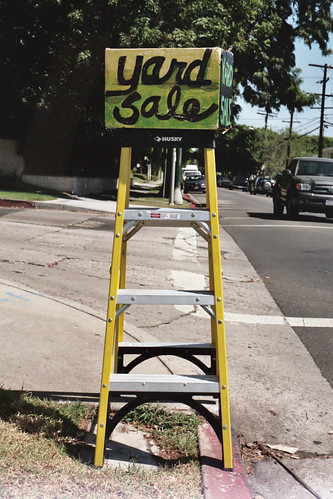 yard sale ladder
