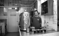 testament to tea (sabrina's stash) Tags: old blackandwhite white black shop hongkong tea hong kong trade herbal shopkeeper