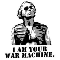 war machine (Senator Cletus Scoffpossum) Tags: warmachine markrumsfield