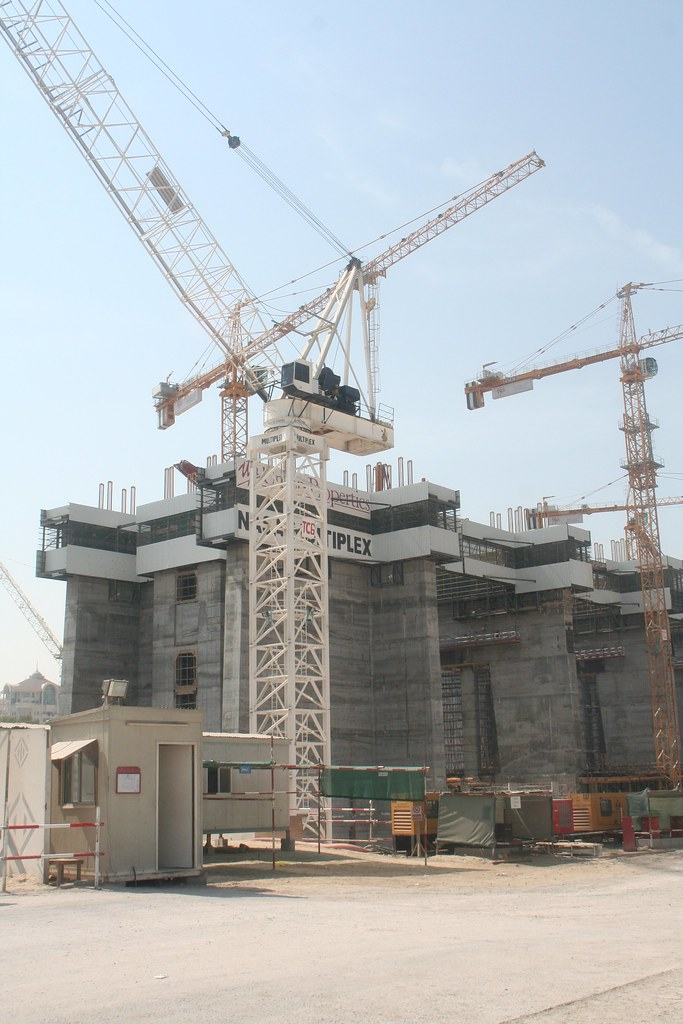 Index Tower (under construction) at Dubai International Financial Center (DIFC)
