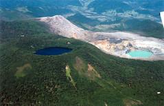 Double Volcano, Costa Rica (Bill in DC) Tags: film 2004 costarica flight flights volcanpoas eosrebelti aeroparaiso