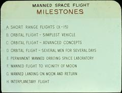 Manned space flight milestones (chrisspurgeon) Tags: moon nasa apollo spaceflight