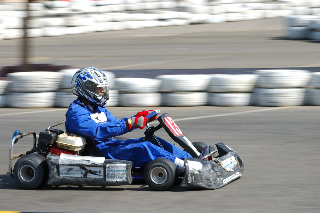 Red Bull Go Kart Action