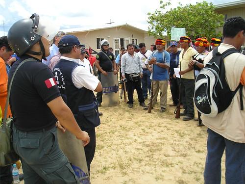 14. Llegan autoridades y gerentes de Pluspetrol por FECONACO.