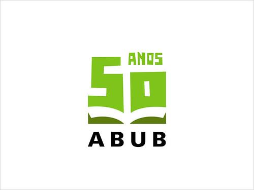 ABUB 50 anos - logotipo por Tiago da Costa | Design Gráfico.