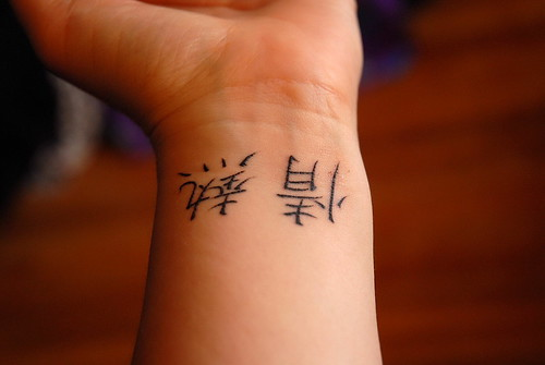 Kanji Tattoos Symbols Meanings and Translations Set 1