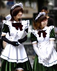 AKIBA Scenario (ajpscs) Tags: street people anime japan japanese tokyo nikon cosplay manga streetphotography nerds electronics akihabara d100 otaku akiba maids geeky chiyodaku taitoku frenchmaid electrictown  chuodori ajpscs akib