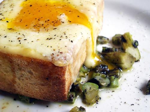truffle oil toast @inoteca