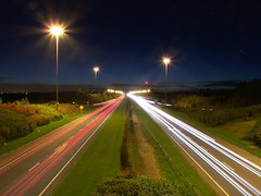 light trails (irish james) Tags: longexposure ireland light dublin kodak trails eire lighttrails m50 slowshutterspeed ballymun top20dublin