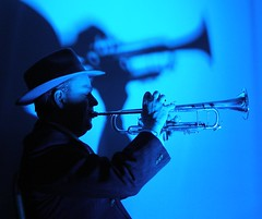 Just Playin' The Blue's... (bluemist57) Tags: bravo trumpet jazz blues australia lookinsharp abigfave bestpixihaveseeninages brpblue photofaceoffwinner photofaceoff pfogold top25blue kieronfreeman goldenheartaward luxtop100