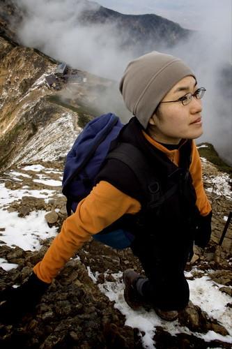 Tomoe Surveys the Route